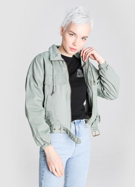Короткая байкерская куртка фото