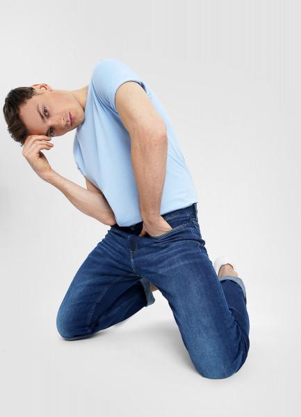 Премиальные прямые джинсы