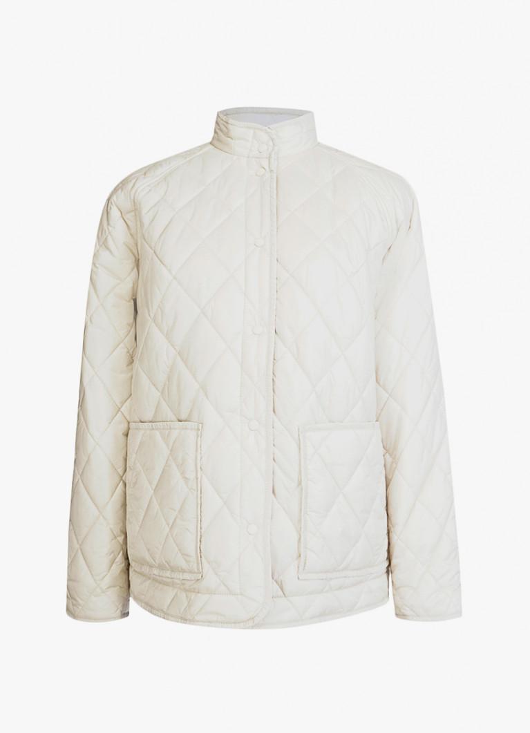 Короткая стеганая ультралегкая куртка
