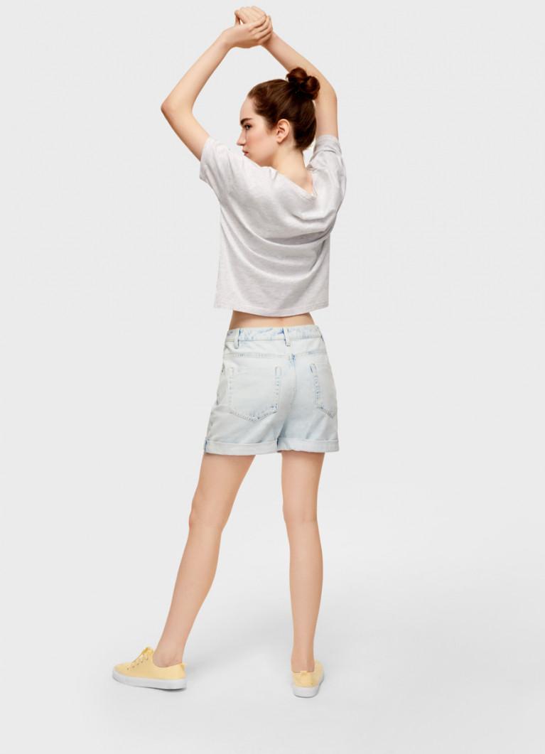 Джинсовые шорты Mom Fit