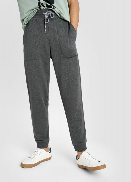 Базовые брюки-джоггеры из облегчённого полотна
