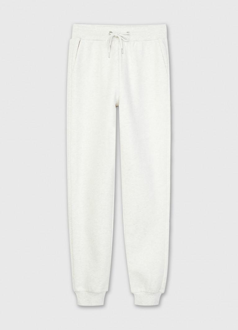 Трикотажные утеплённые брюки