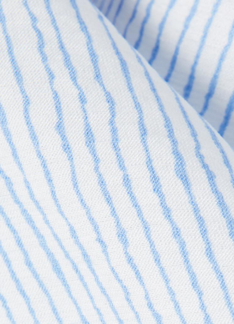 Блузка в микрополоску