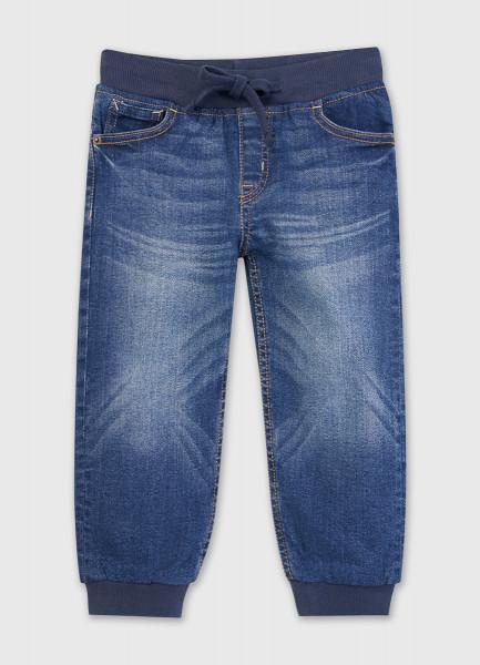 Базовые джинсы-джоггеры для мальчиков