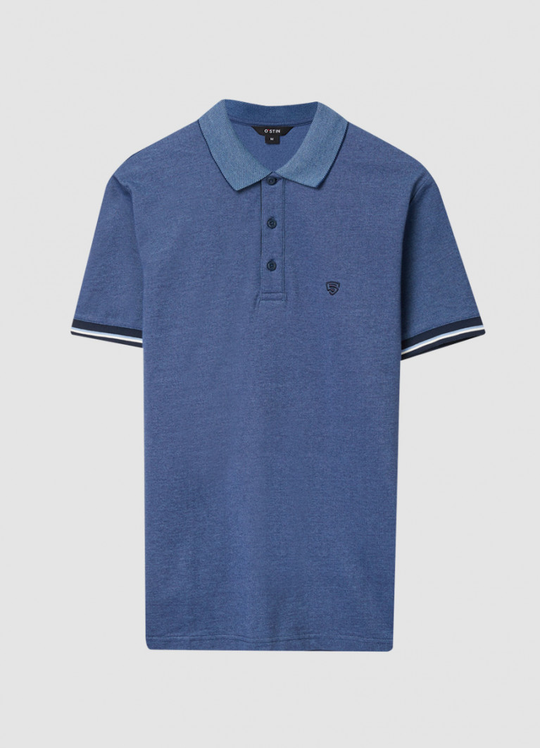 Рубашка-поло из пике