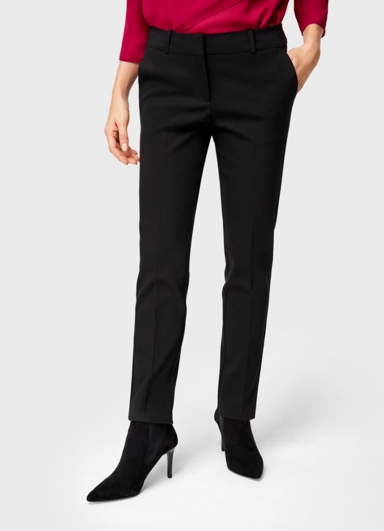 Узкие брюки из эластичного хлопка