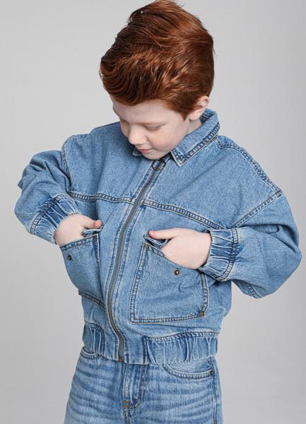 Джинсовая куртка для мальчиков фото