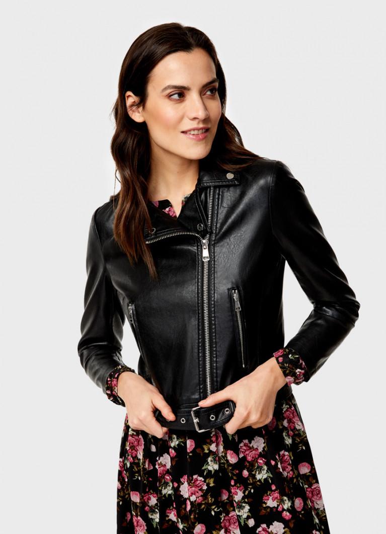 Куртка-косуха из искусственной кожи