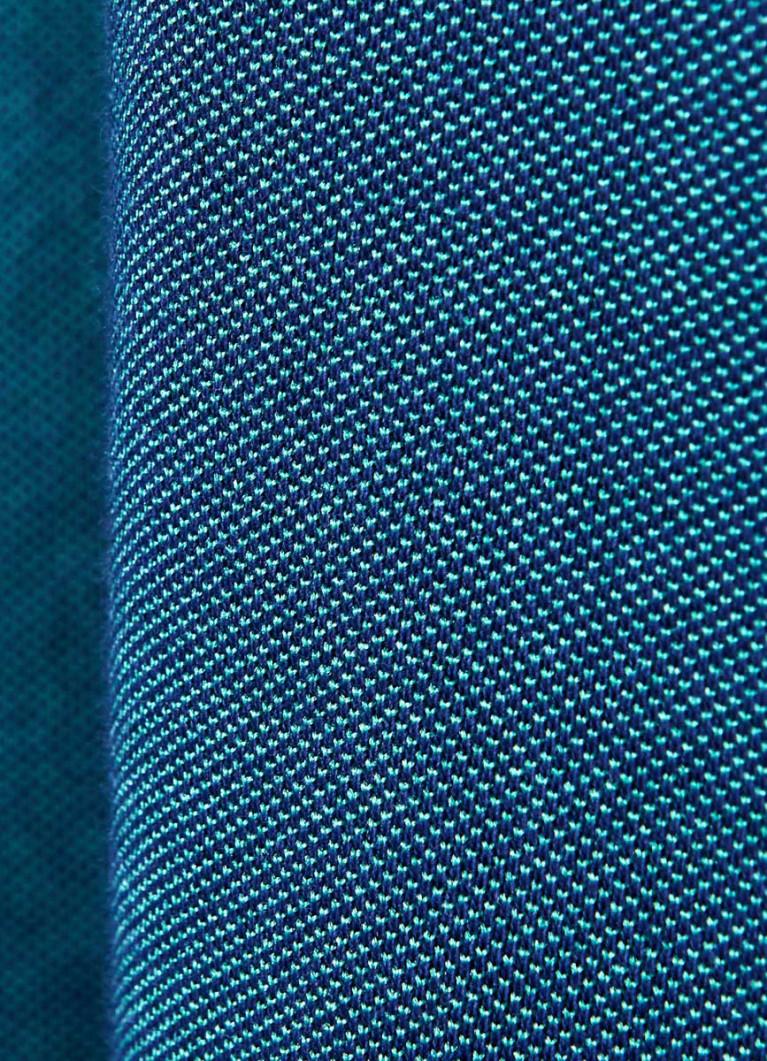 Поло из двухцветного пике