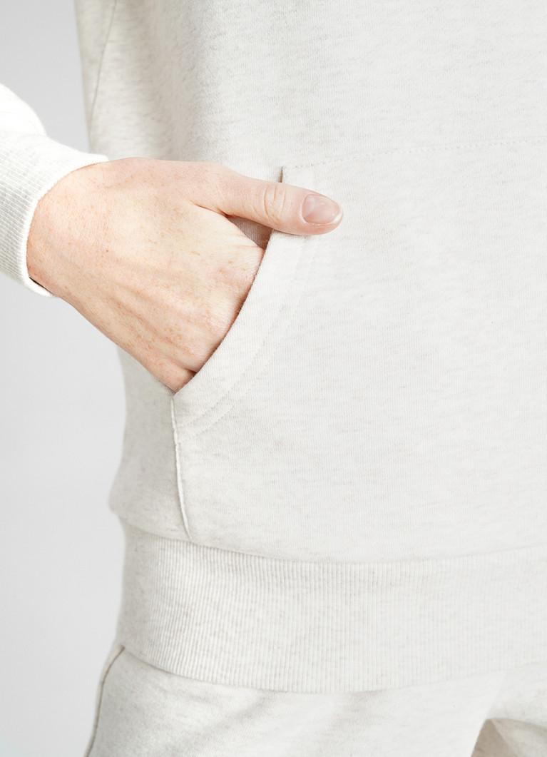 Толстовка-худи с мехом