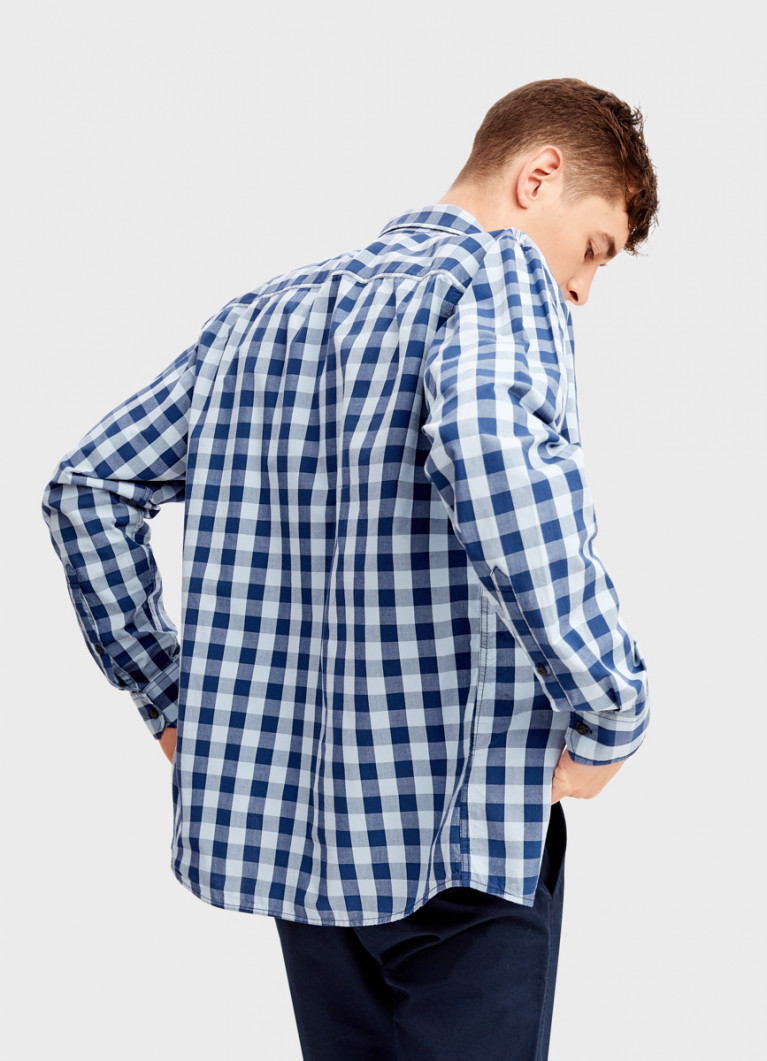 Рубашка в клетку виши