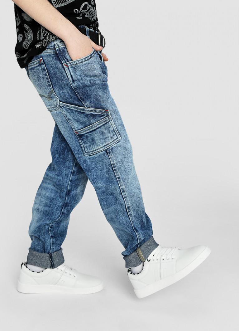 Кожаные полуботинки для мальчиков