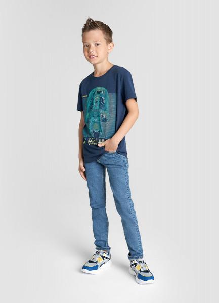 Фото - Джинсы-скинни для мальчиков джинсы la redoute супер скинни 12 синий