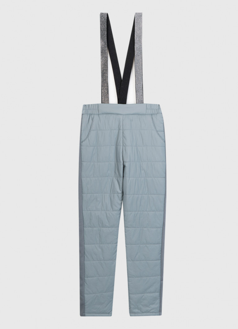 Утеплённые брюки для девочек