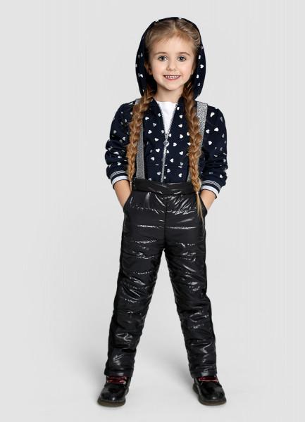 Утеплённые брюки для девочек фото