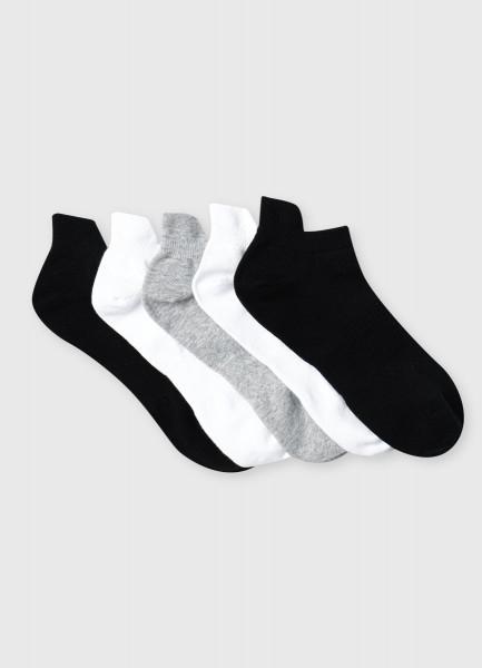 Короткие фитнес-носки