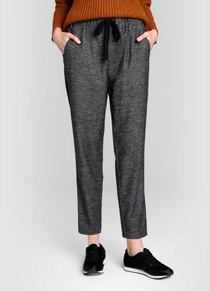 Утеплённые брюки-багги