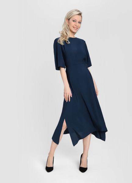 gucci однотонное платье Однотонное платье А-силуэта