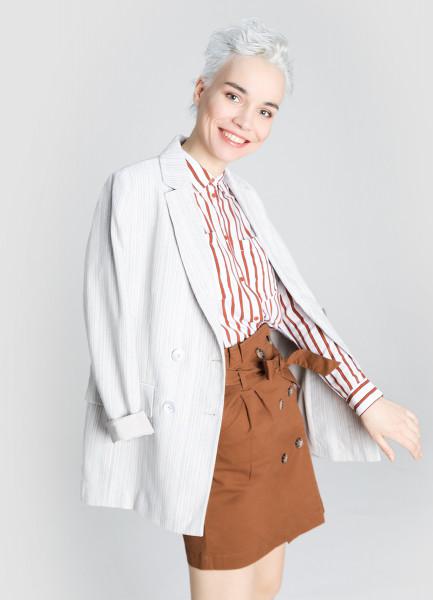 Двубортный пиджак фото