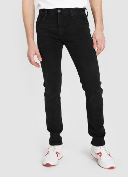 Чёрные джинсы Slim фото
