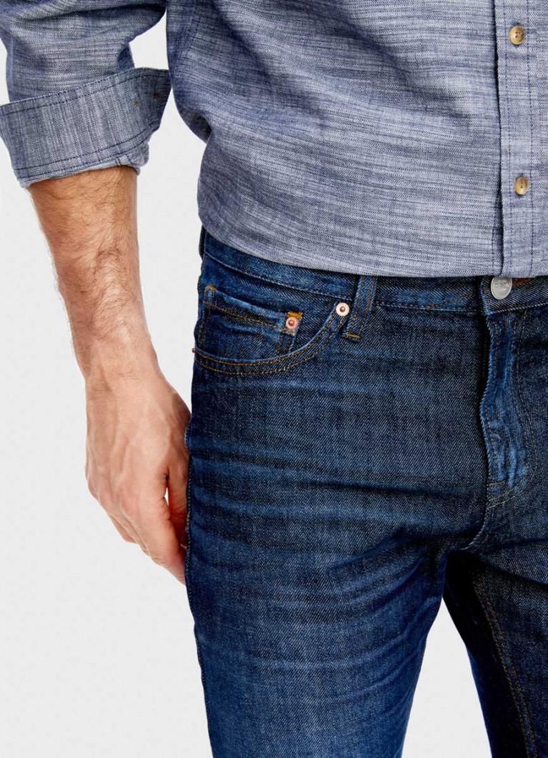 Тёмно-синие джинсы Slim Fit