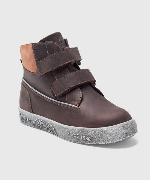 Кожаные ботинки для мальчиков