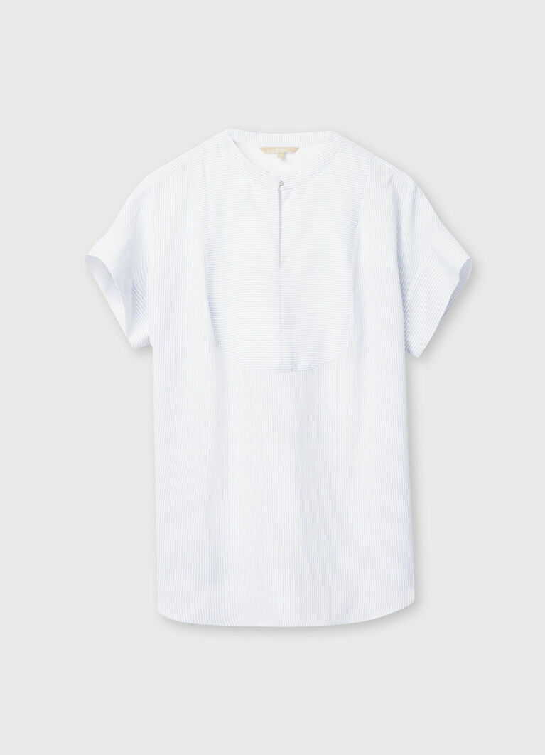 Блузка в микропринт