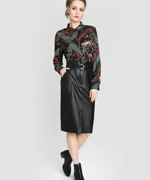 Блузка с принтом «цепи»
