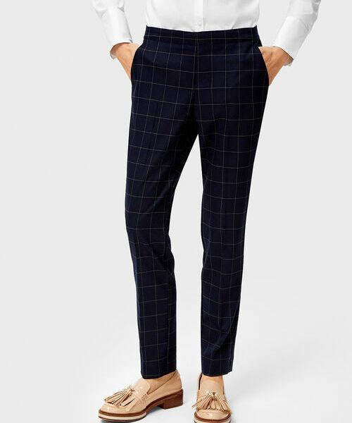 Фото - Поливискозные брюки с эластичным поясом фото
