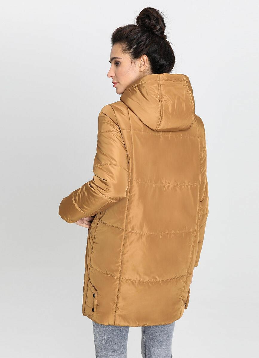 Пальто силуэта «кокон»