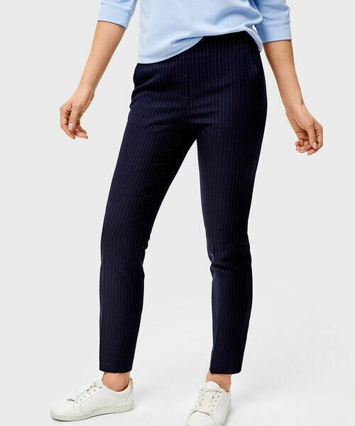 Поливискозные брюки с эластичным поясом шорты с эластичным поясом