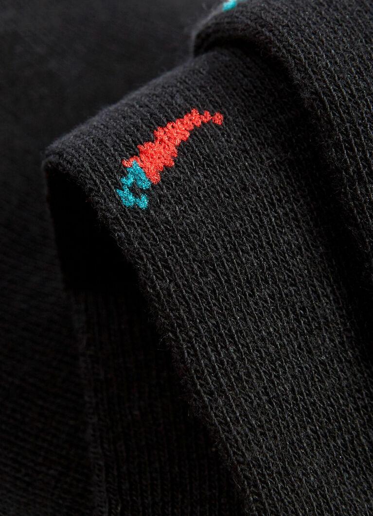Носки с жаккардом «перцы»