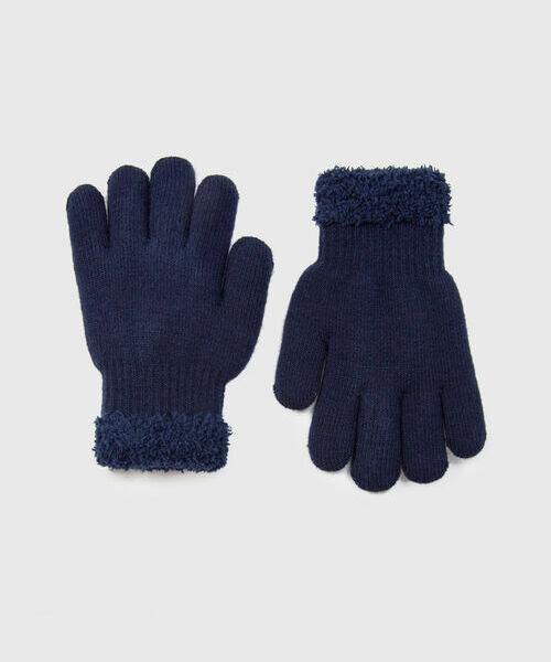 Трикотажные перчатки для мальчиков