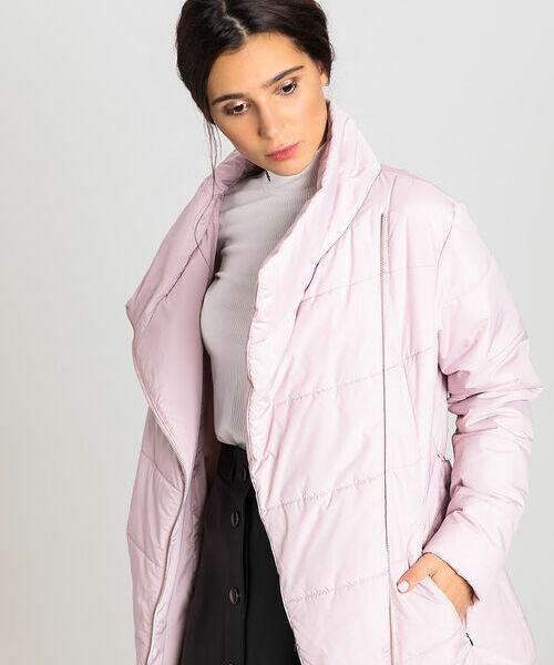цены на Утеплённая короткая куртка на запах в интернет-магазинах