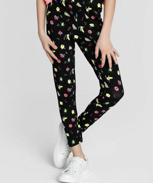 Трикотажные брюки для девочек лосины для девочек