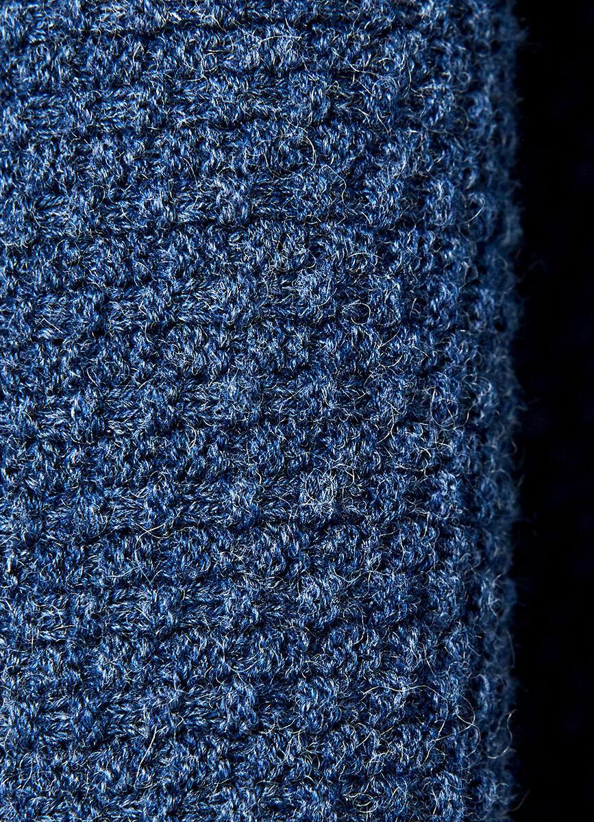Джемпер Half Zip со структурной полочкой
