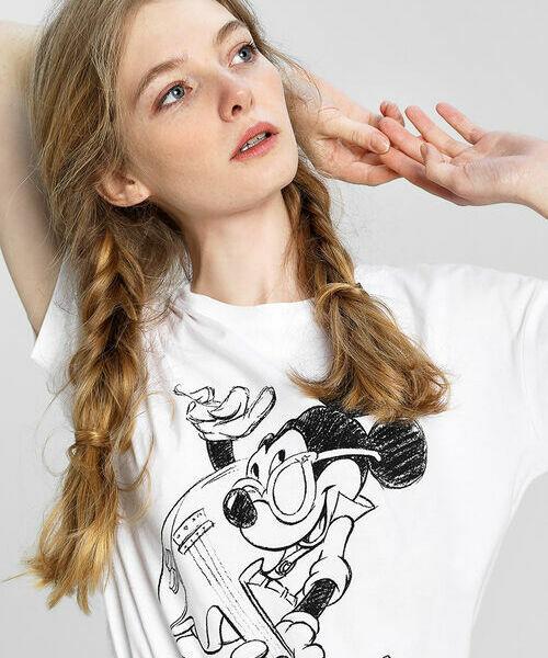 Футболка с принтом Микки Маус футболка классическая printio микки маус мультяшный герой