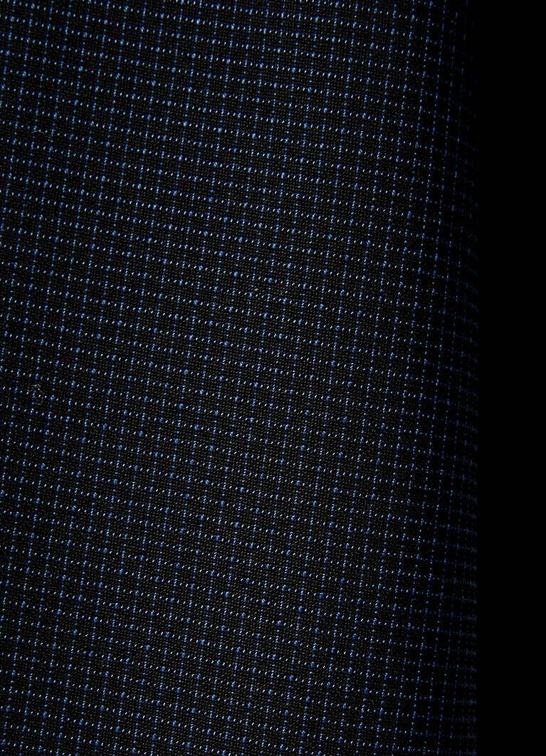 Брюки Chino в микроклетку из поливискозы