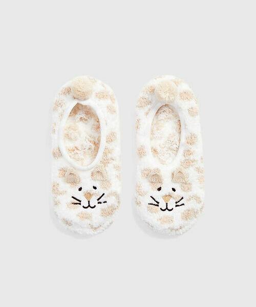 Домашние короткие носки «кошки»