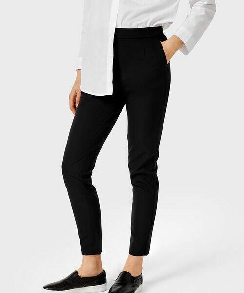 Фото - Узкие брюки из эластичной ткани фото