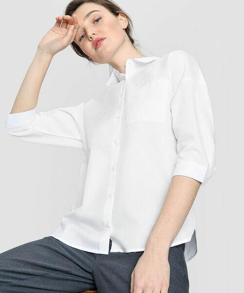 Фото - Объёмная хлопковая рубашка рубашка greg greg mp002xm05sgb