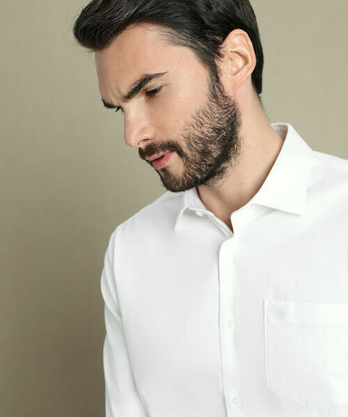 Фото - Рубашка с узором в «ёлочку» рубашка greg greg mp002xm05sgb