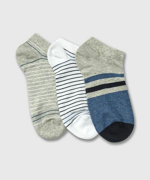 Фото - Короткие носки с полосками носки
