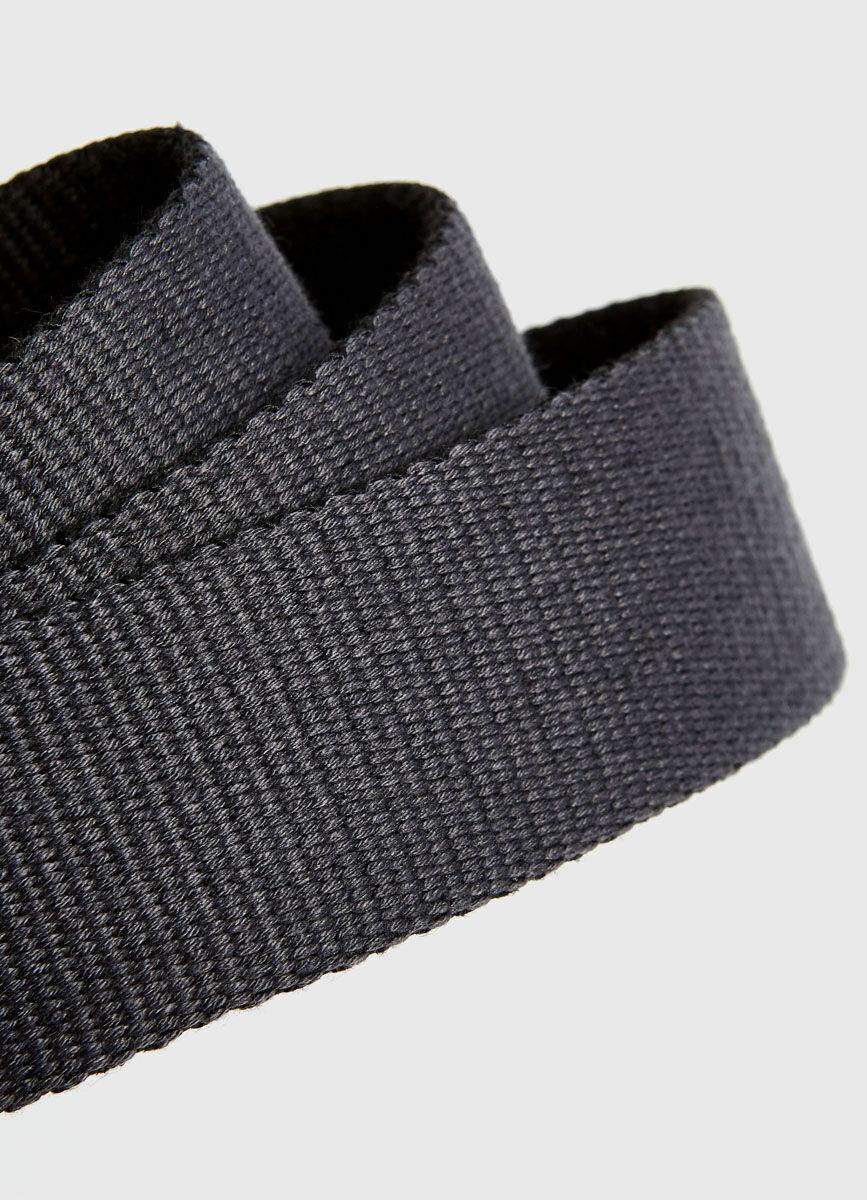 Текстильный ремень с пряжкой