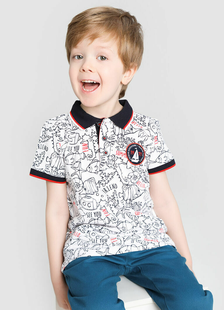Рубашка-поло для мальчиков