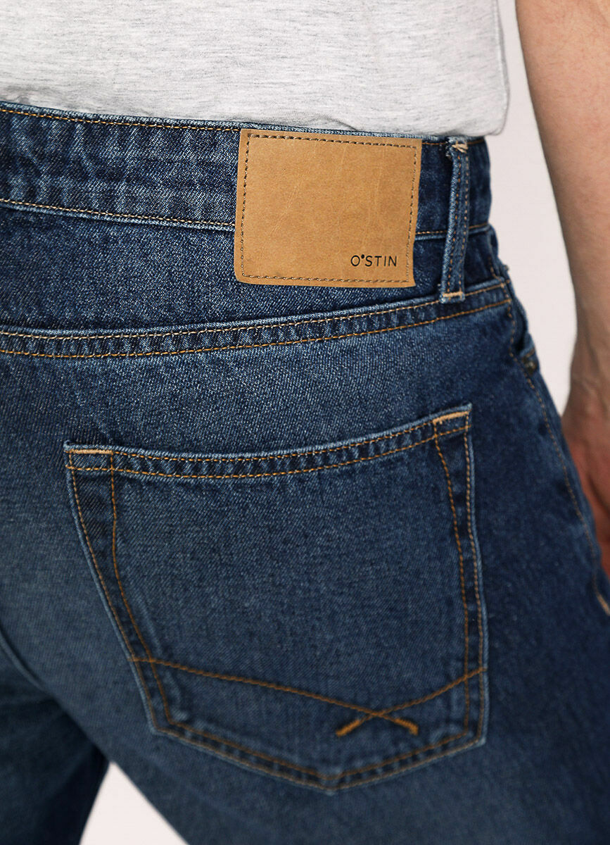 Базовые зауженные джинсы