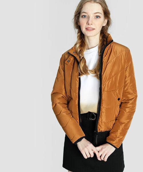 Короткая утеплённая куртка короткая куртка deer and birds l0386 386