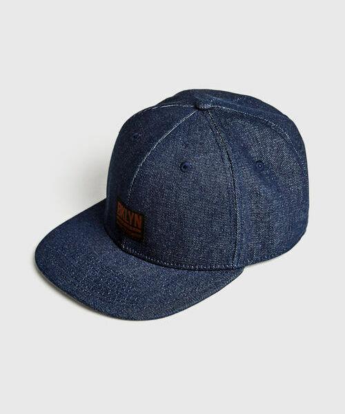 Джинсовая кепка с прямым козырьком бейсболка с прямым козырьком flexfit 6007 navy