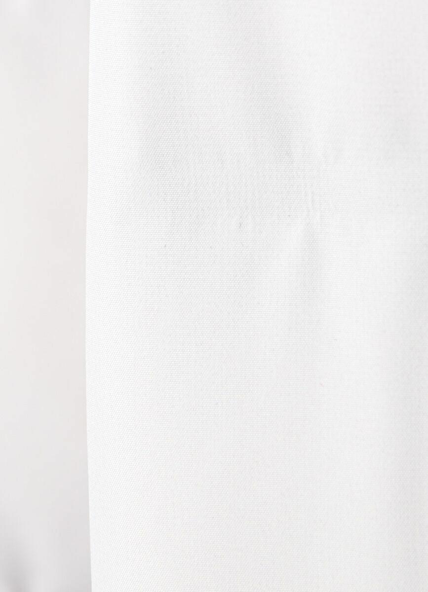 Длинный пуховик из двухслойной ткани