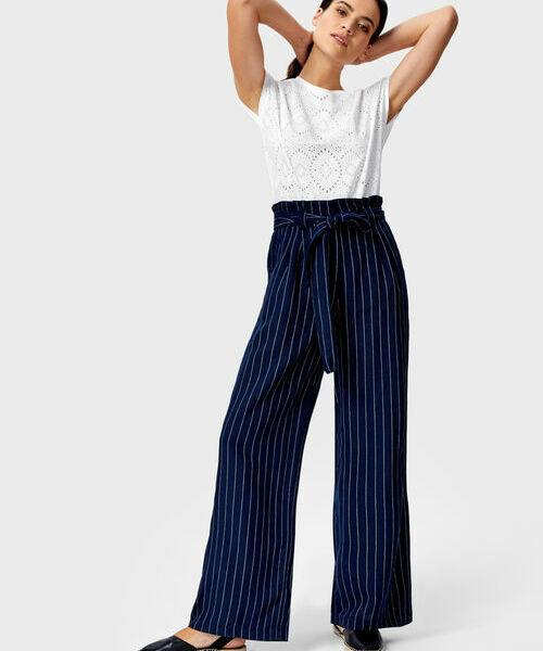 Широкие брюки из льна брюки широкие 7 8 из льна и вискозы